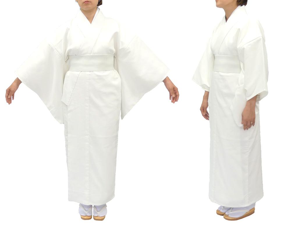 遠赤外線・保温白衣 つい丈仕様【冬用 女性用】